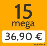 Adsl 15 Mega e telefonate a tutti i fissi nazionali a 36,90 €/mese invece di 46,00 €/mese